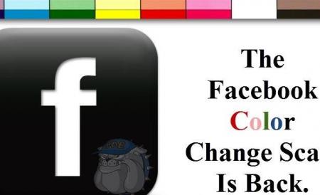 Aplicatia de schimbare a culorii profilului de Facebook este un virus