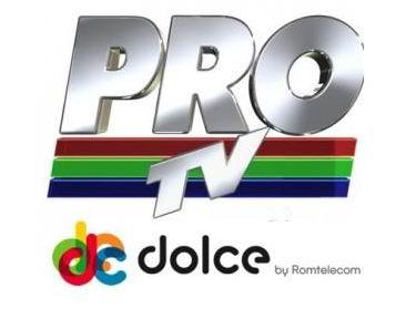 Fara canalele Pro tv in grila Dolce