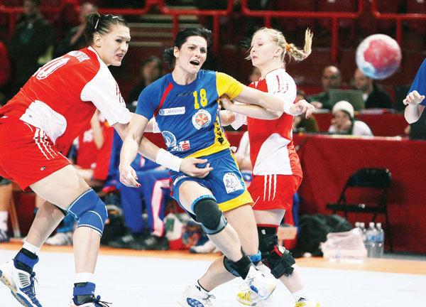 Romania - Rusia la CE de handbal din 2012