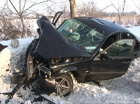 Accident rutier in apropierea comunei Branistea