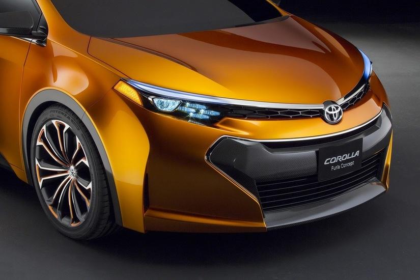 Toyota Corolla Furia la Detroit 2013