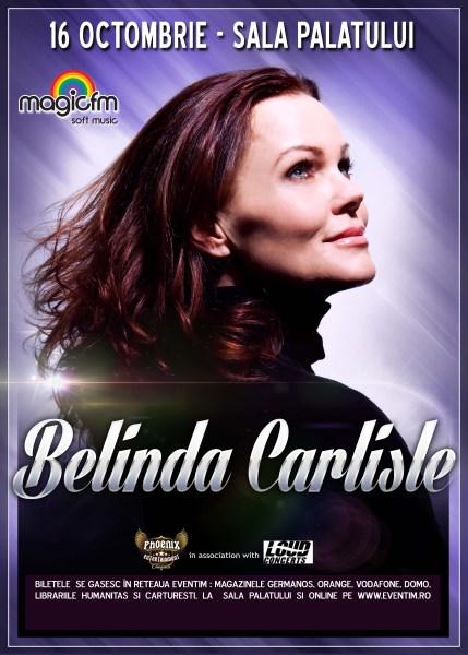 Concert Belinda Carlisle - Sala Palatului - Bucuresti - 16 octombrie