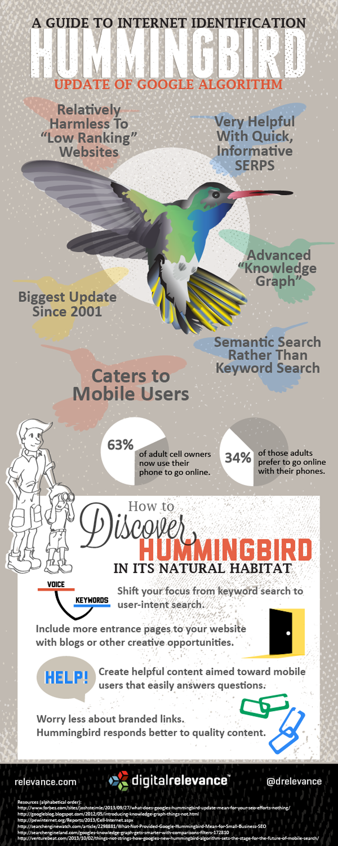 Ce inseamna de fapt Google Hummingbird