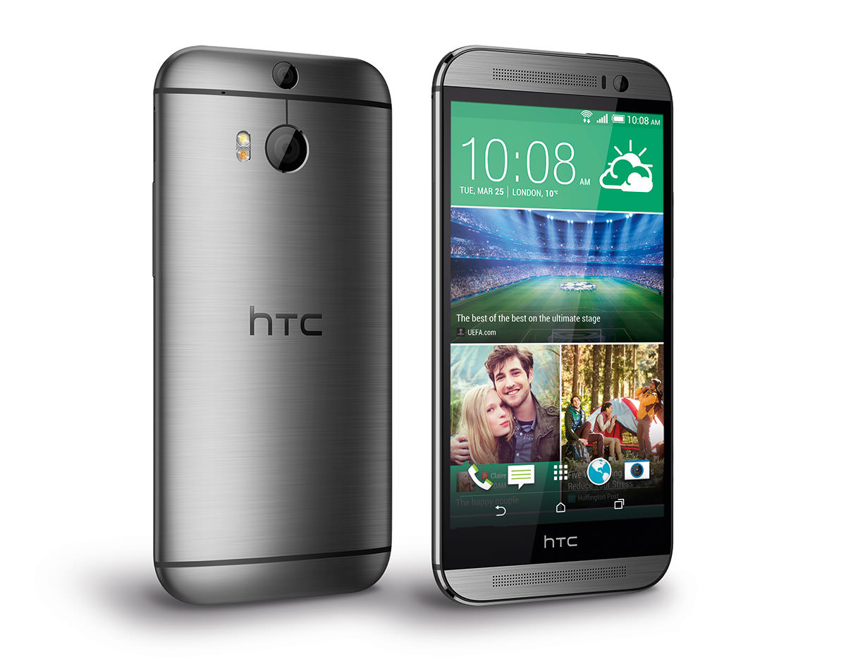 HTC One m8 in versiunea sylver