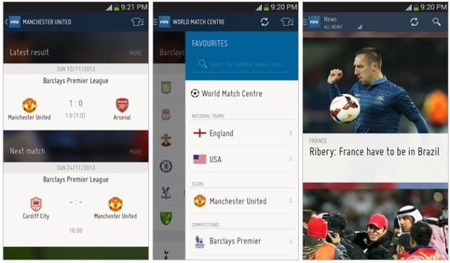 Aplicatii CM 2014 - FIFA