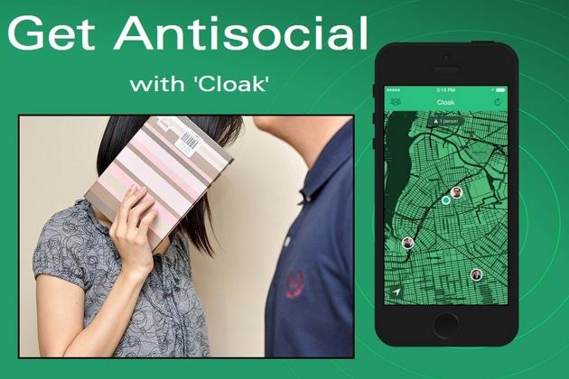 Cloak - retea de antisocializare
