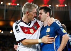 Argentina plange, Germania celebreaza a patra Cupa Mondiala