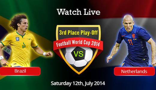 Meciul pentru locul 3, Brazilia - Olanda