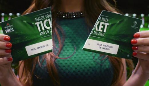 Reclame bune: Heineken - 3 minutes to the final