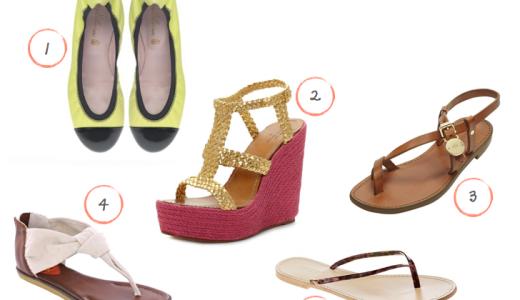 pantofi de vara