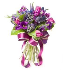 panglica decorativa flori