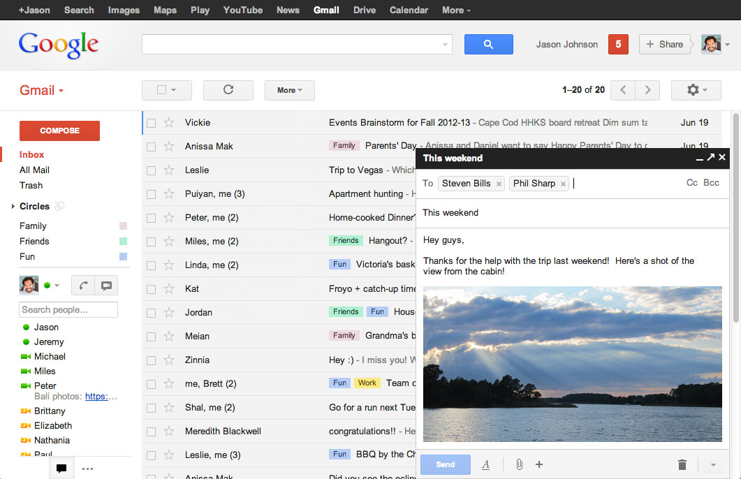 New compose - Gmail