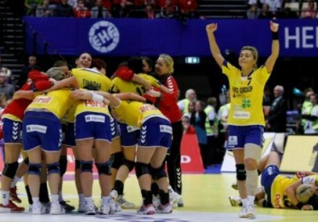 Romania - Rusia 21-21 in prima partida de la CE de handbal